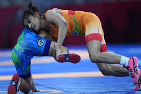 Asian Wrestling Championships Vinesh Phogat Settles For Bronze