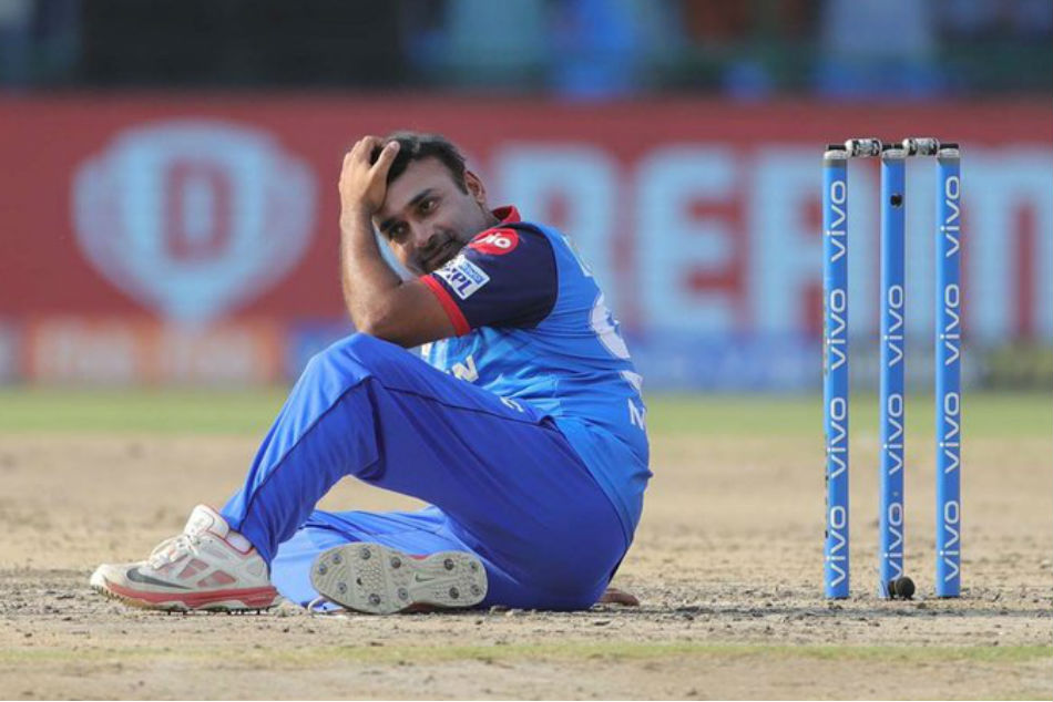IPL 2019: Amit Mishra given out obstructing the field, joins unwanted list