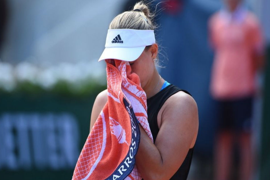 French Open: Teenager stuns Angelique Kerber in first round