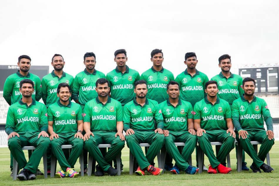 Bangladesh forced to change World Cup jersey after uproar
