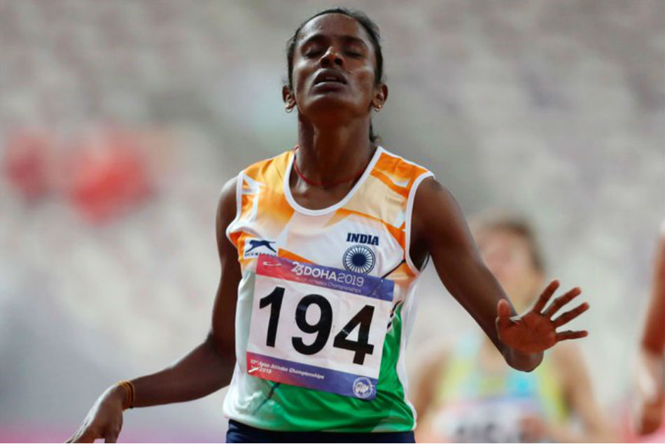 Indian runner Gomathi Marimuthu failed dope test after winning Asian title
