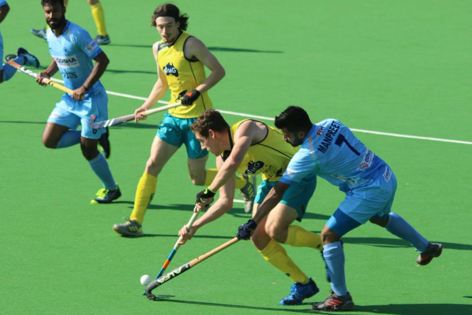 Hockey India Draw 1 1 Against Australia A