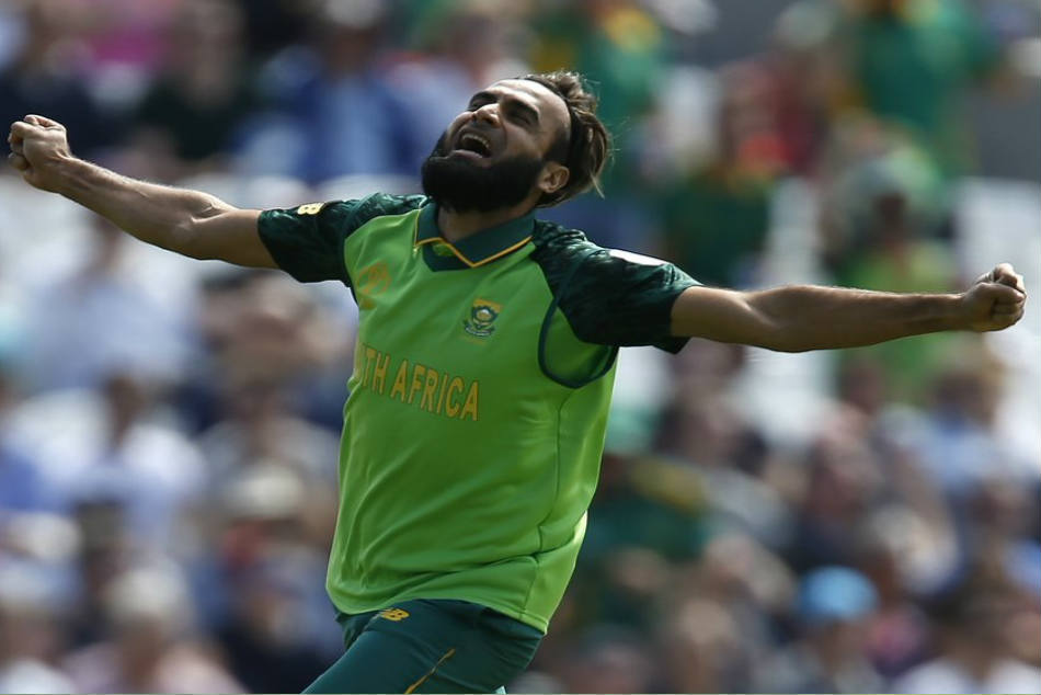 Imran Tahir Becomes 1st Spinner To Bowl Opening Over At Wc