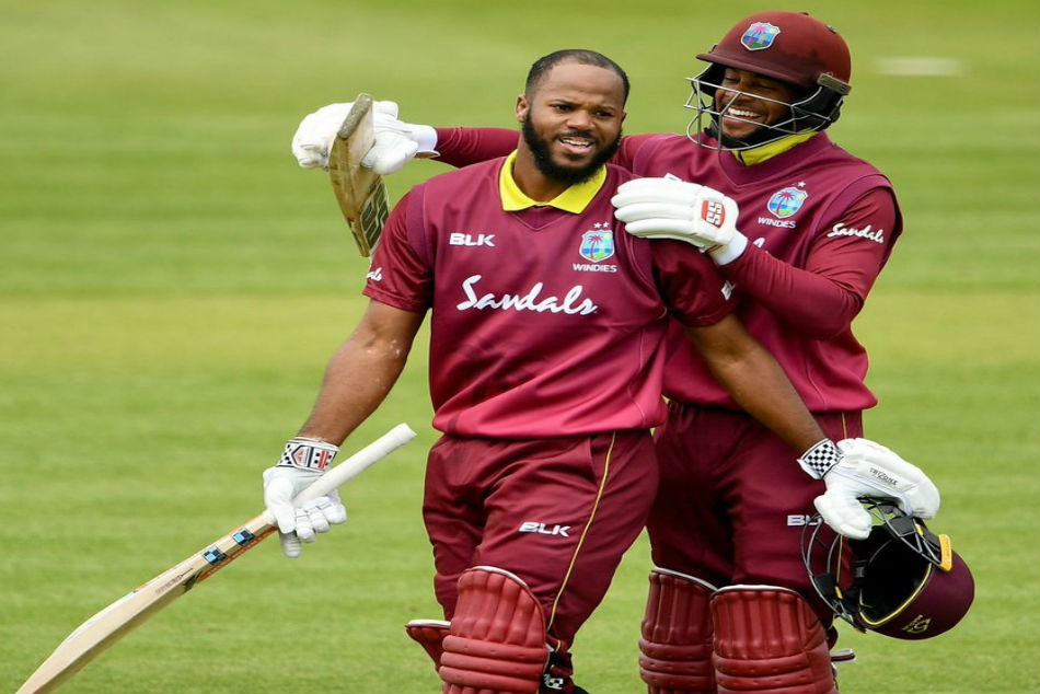 West Indies John Campbell, Shai Hope set record ODI opening stand against Ireland
