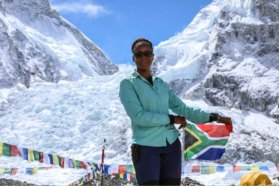 Saray Khumalo Becomes First Black Sa Woman To Conquer Mount Everest