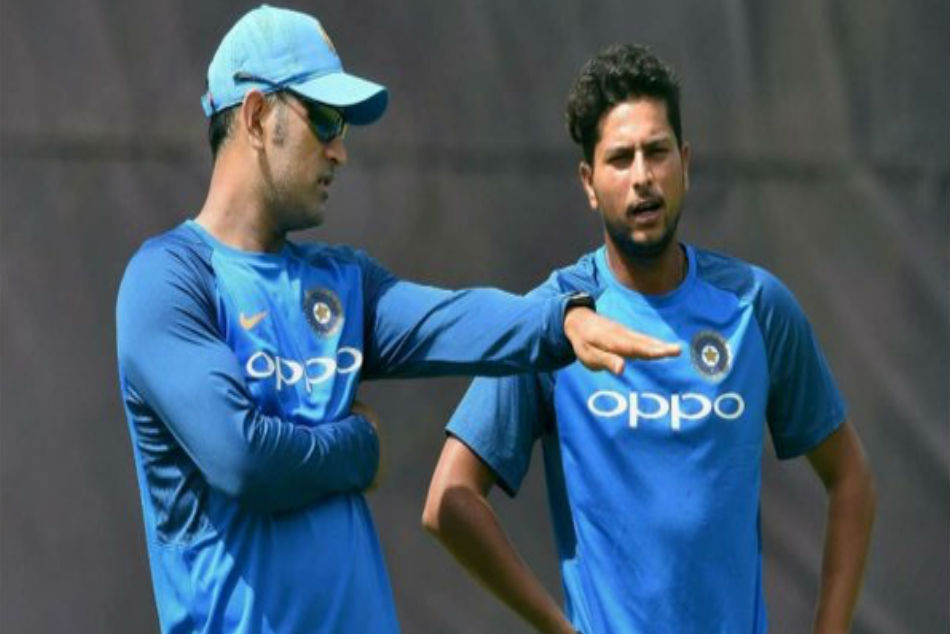 Kuldeep Bowls A Wrong One Stumps Dhoni With Humour