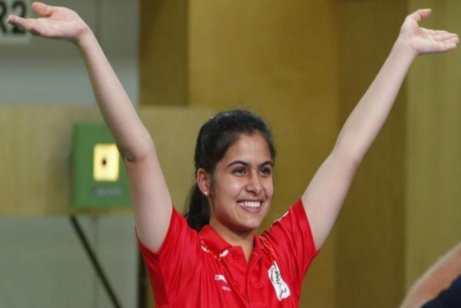 Manu Bhaker wins Olympic quota in Air Pistol