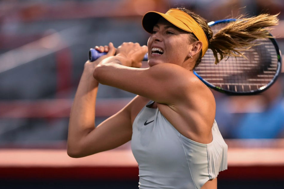 Sharapova withdraws from Italian Open with shoulder injury