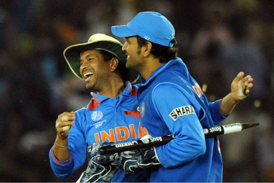 ICC World Cup: Dhoni best suited at No 5 for India, says Tendulkar