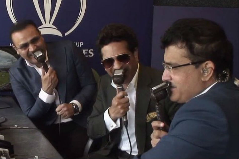 World Cup: Tendulkar, Sehwag and Ganguly reunite in commentary box