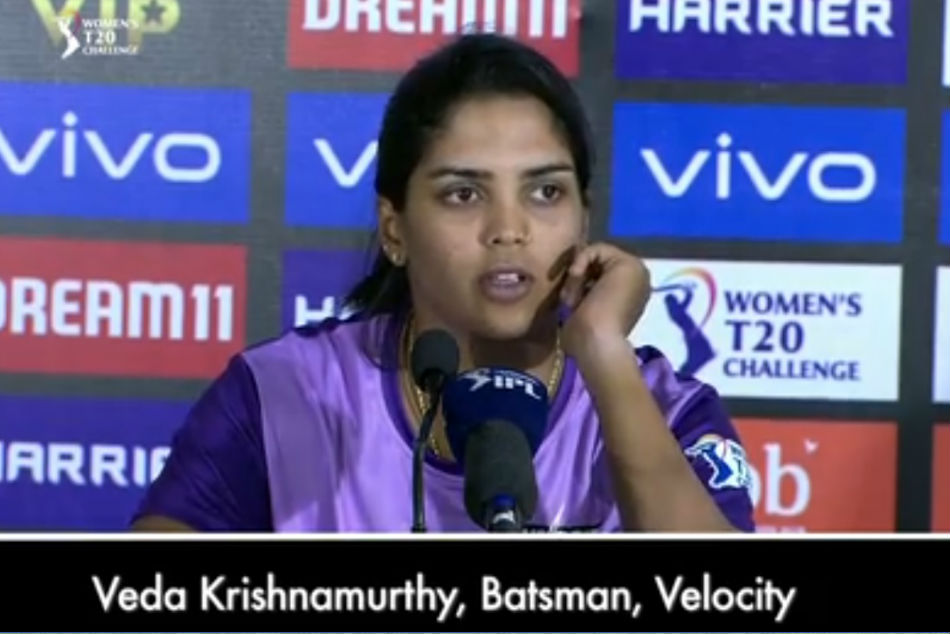 Veda Krishnamurthy 2019 Ipl Game After Supernovas