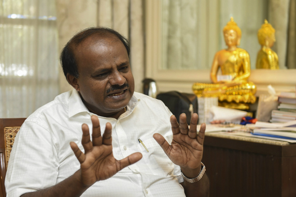 India Pakistan match : HD Kumaraswamy wishes to team India