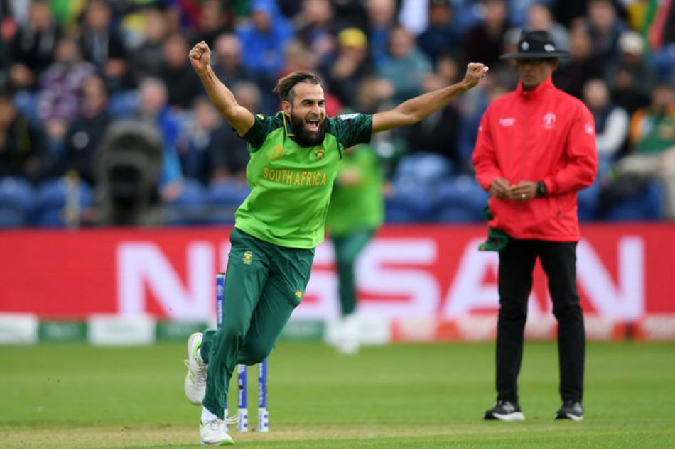 World Cup Imran Tahir Two Wickets Away From Scripting Wc History