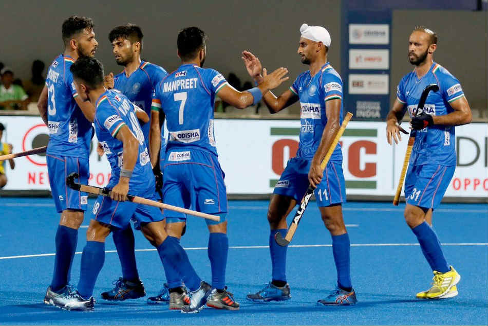 Fih Series Finals Captain Manpreet S Brace Hands India 3