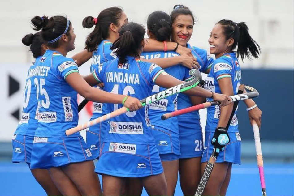 Indian Women S Hockey Team Clinches Fih Series Finals Beats Japan 3