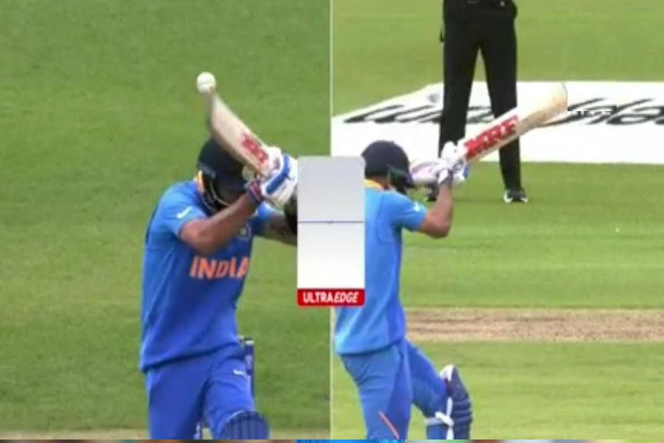 World Cup 2019: Virat Kohli walks back despite not hitting the ball