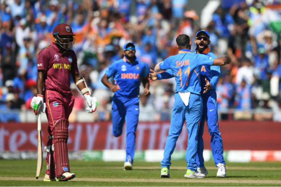 World Cup 2019: Kohli, Shami imitate Sheldon Cottrell's salute celebration