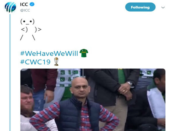 Pakistan fan was trolled