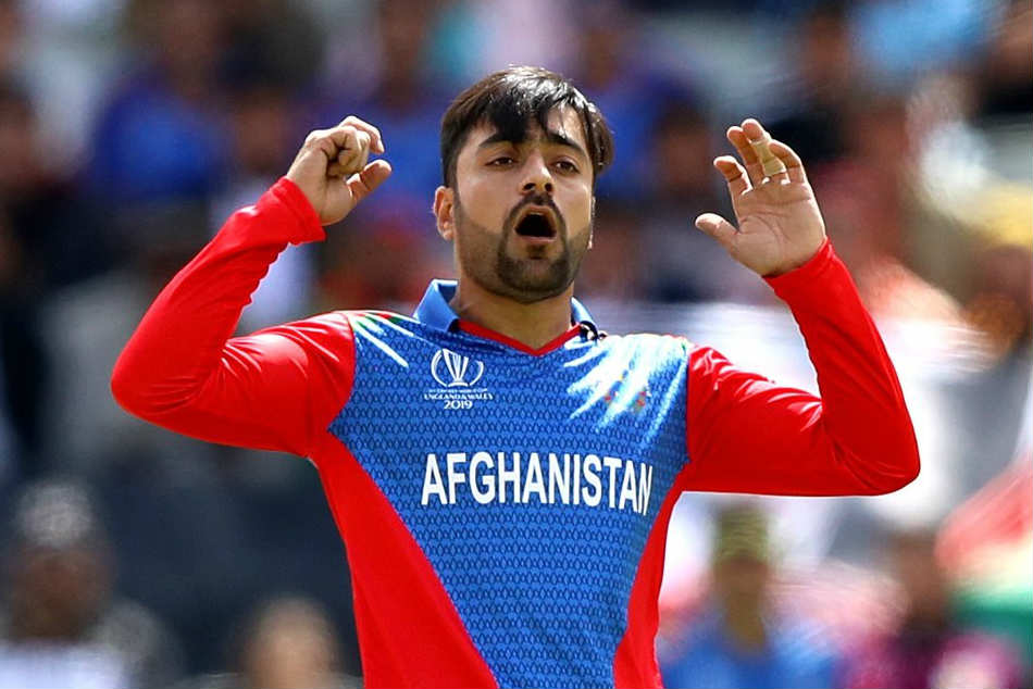 Rashid Khan 1st spinner to give away 100 runs in an ODI