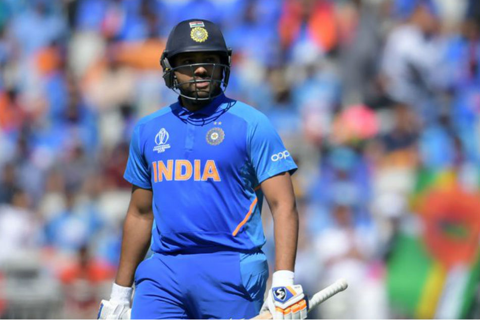 Rohit Sharma takes to twitter to suggest he was not out against West Indies