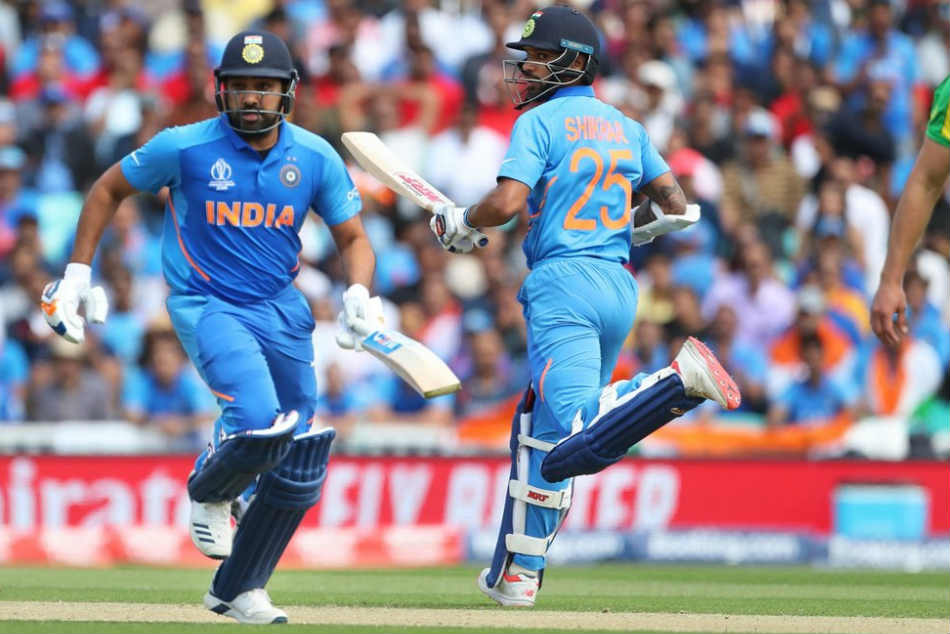 Rohit Sharma, Shikkhar Dhawan Become most successful opening pair vs AUS in ODIs