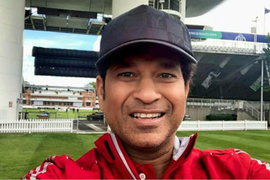 Sachin Tendulkars Hilarious Reply To ICCs Comparison With Rohit Sharmas Six