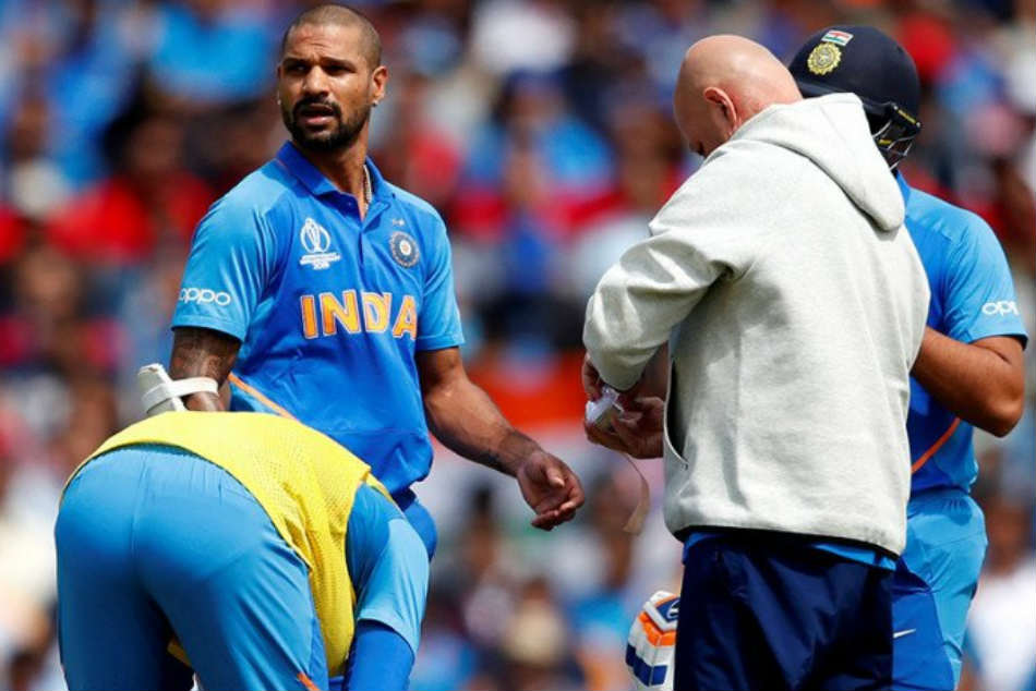 Injured Shikhar Dhawan under observation: BCCI