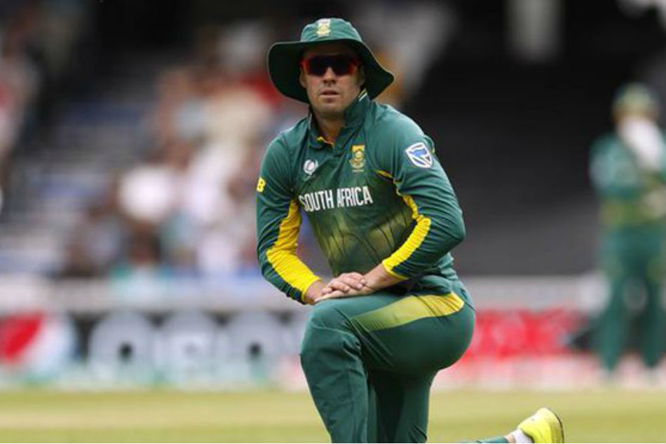 AB de Villiers breaks silence on his way into South Africa's World Cup squad