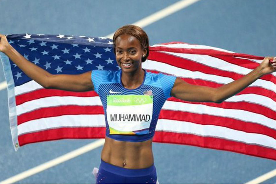 Dalilah Muhammad breaks 16-year-old 400m hurdles record