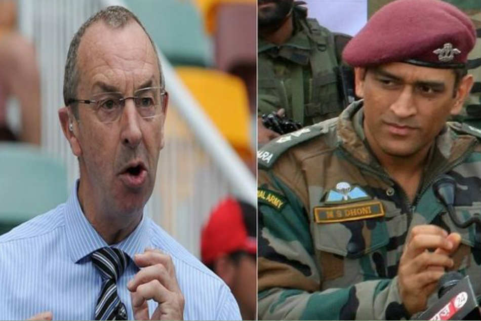 David Lloyd gets trolled for cheeky tweet on Dhoni