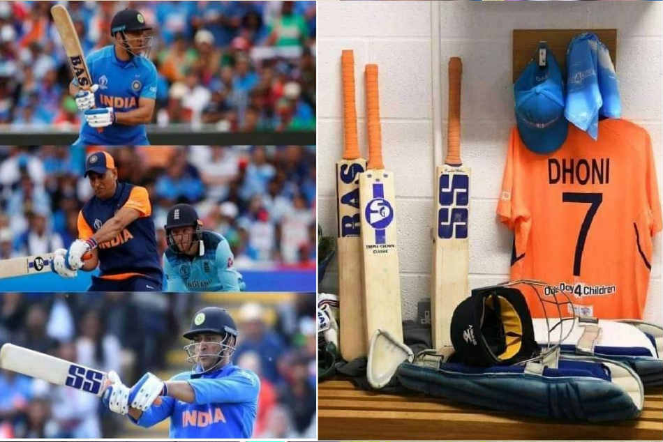 WC 2019: Dhoni using different bat logos as goodwill gesture
