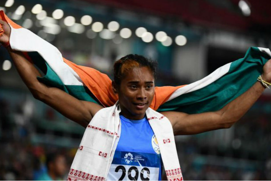 Hima Das returns to 400m run, grabs fifth gold of month