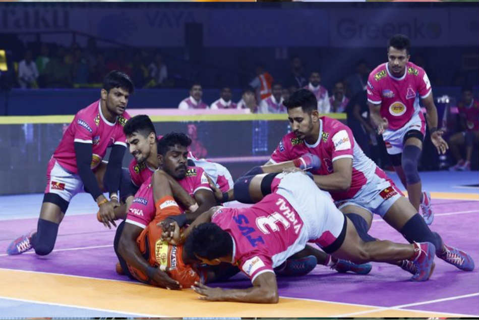 Pro Kabaddi League 2019: Jaipur Pink Panthers beat U Mumba by 42-23