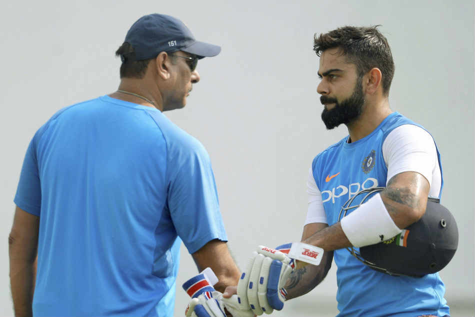 Kohli and Shastri