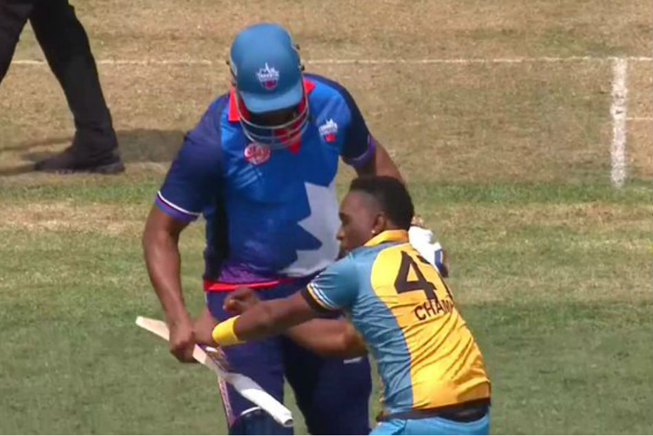 GT20L: Dwayne Bravo pokes fun at Kieron Pollard post dismissing him