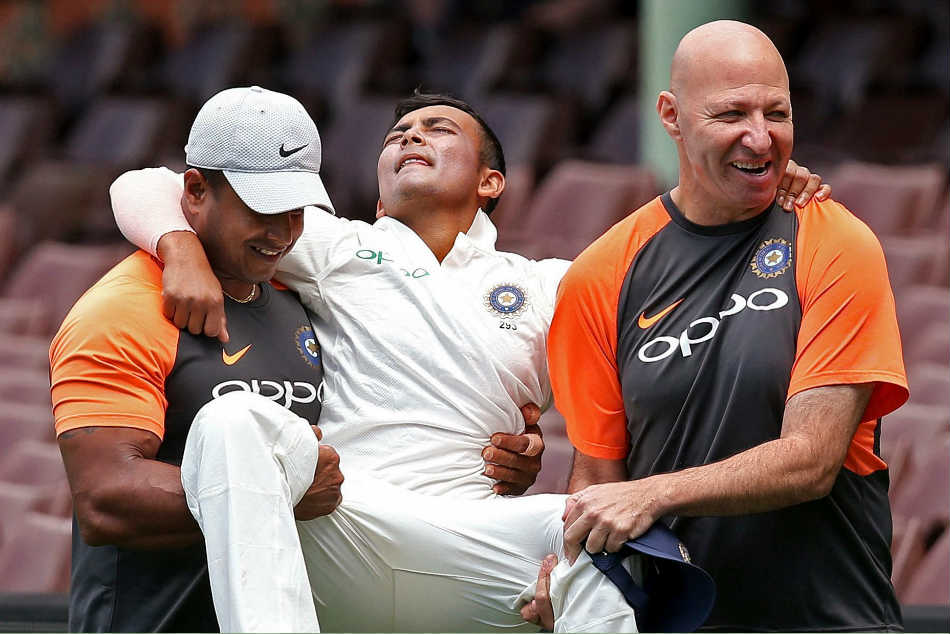 Prithvi Shaw Fails To Recover From His Hip Injury