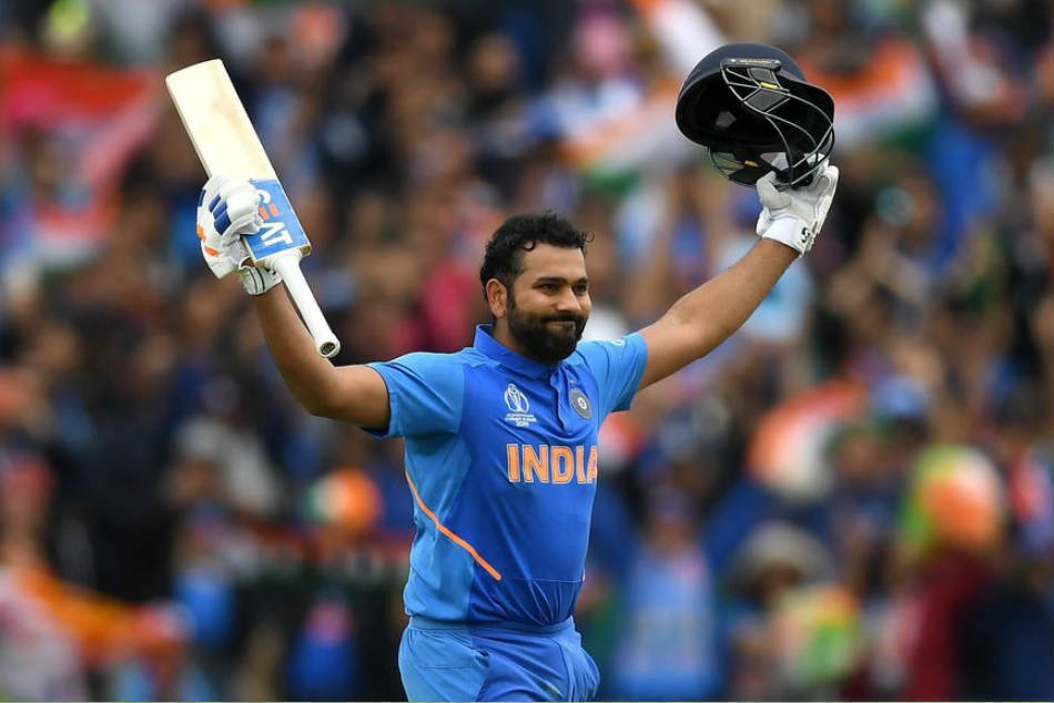 Rohit Sharma breaks MS Dhonis record for most odi sixes by an Indian