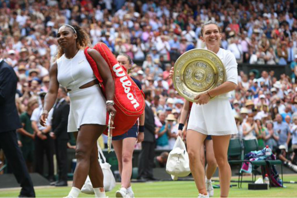 Simona Halep stuns Serena Williams to lift maiden Wimbledon title
