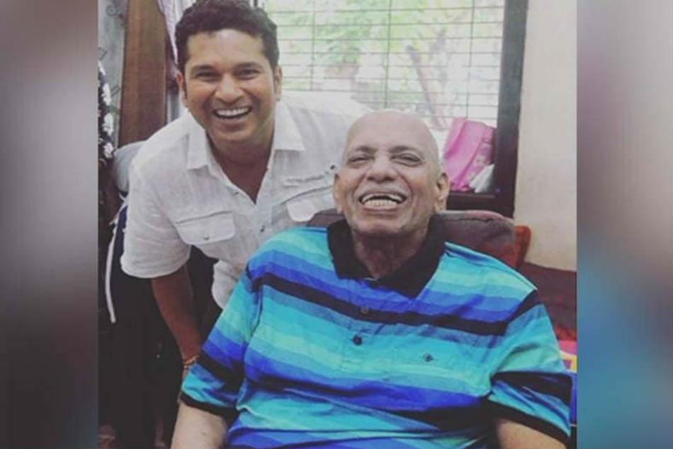 Tendulkar Remembers Coach Achrekar On Guru Purnima