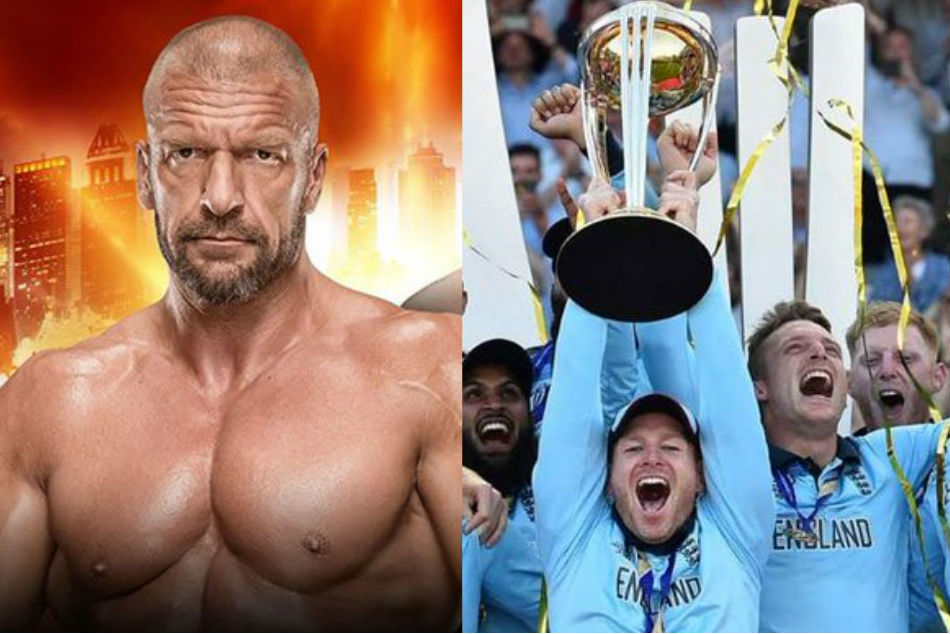 Champions England receive unexpected gift from WWE COO Triple H