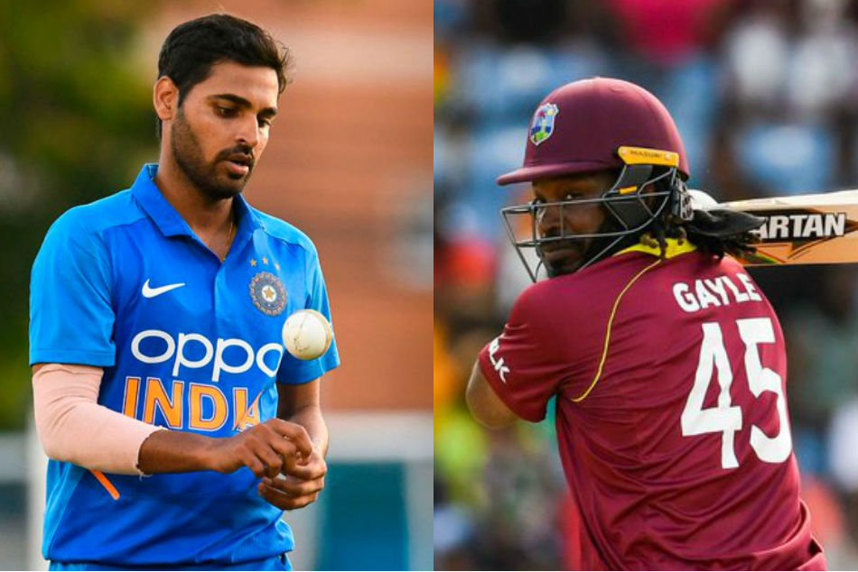 Bhuvneshwar Kumar on verge of surpassing Chris Gayle in elite list
