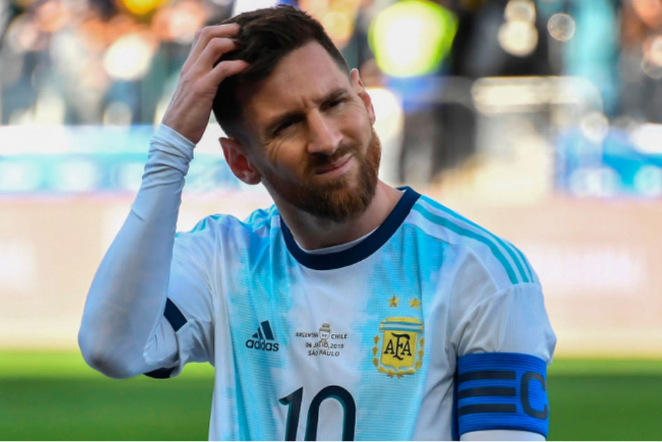 Lionel Messi handed three-month suspension from Argentina team