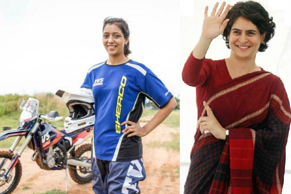 Priyanka Gandhi Congratulated Aishwarya Pissay For Claiming Fim World Cup Title