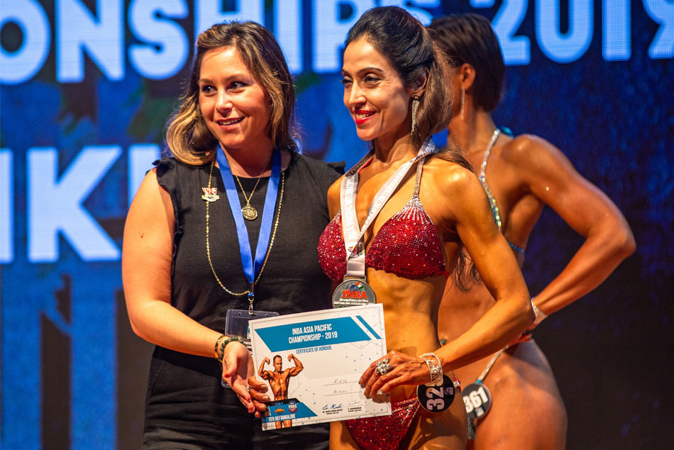Shelly Arora Won The Asia Pacific Championship At Inba 2019