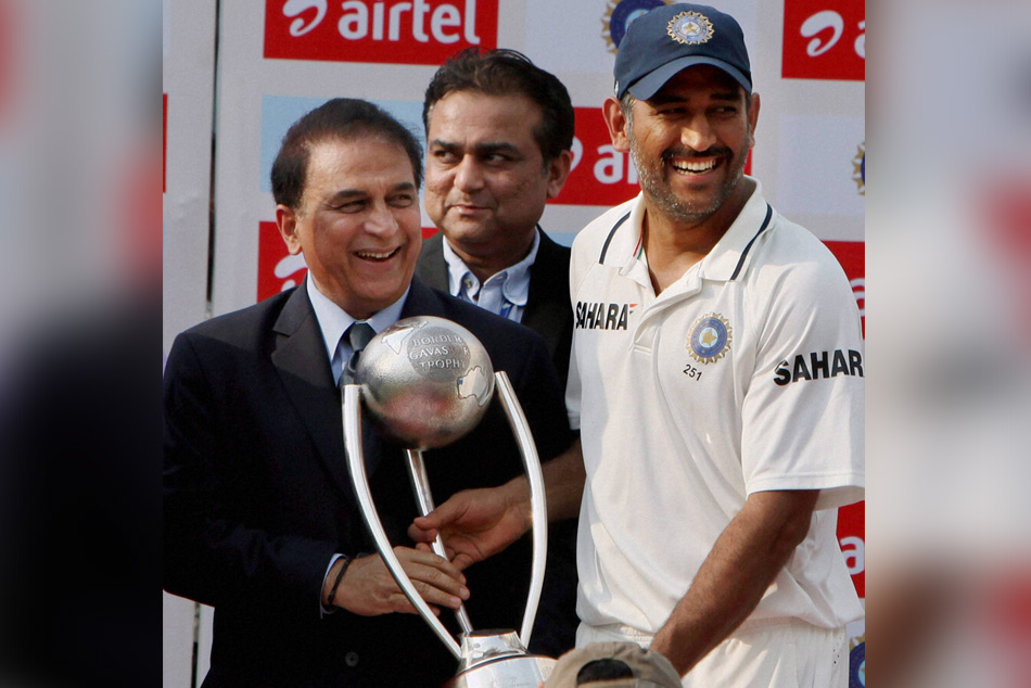 Cricket Dhoni Should Go Without Being Pushed Out Sunil Gavaskar Retirement
