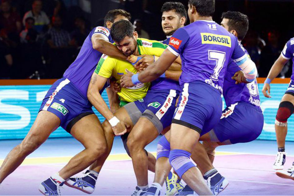 Pro Kabaddi League: Haryana Steelers beat Tamil Thalaivas