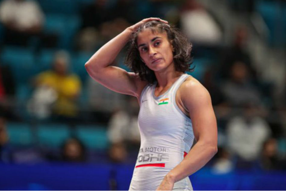 Indian wrestler Vinesh Phogat qualifies for 2020 Olympics