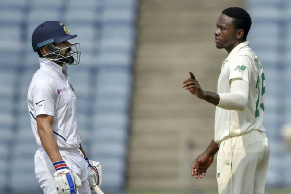 Virat Kohli gives priceless reaction after Kagiso Rabada's sloppy fielding