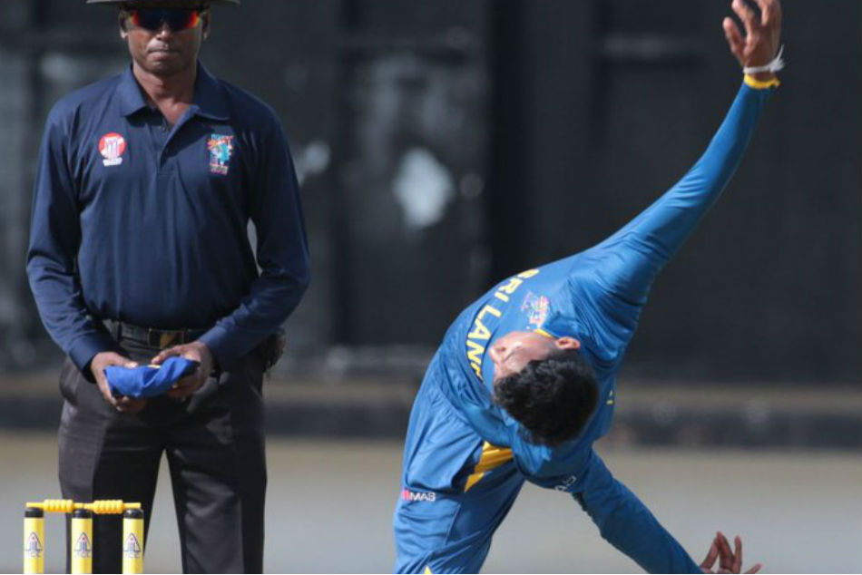 Sri Lankan spinner Kevin Koththigodas quirky action going viral