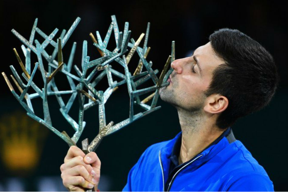 Novak Djokovic cruises to fifth Paris Masters title